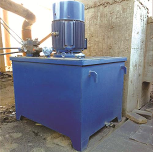 Magnesia discharging machine